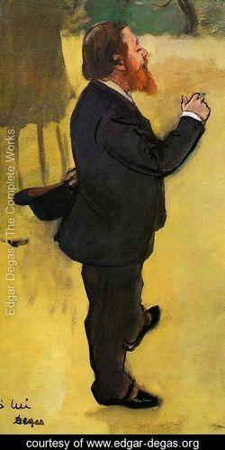 Edgar Degas: Carlo Pellegrin, 1877 Tate Gallery, Londra, Gran Bretagna