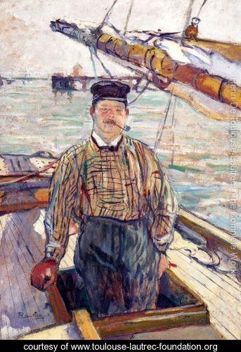 Toulouse-Lautrec : Emile Davoust, 1889, Kunsthaus, Zurgo, Svizzera