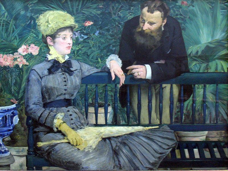 Edouard Manet: Nella serra