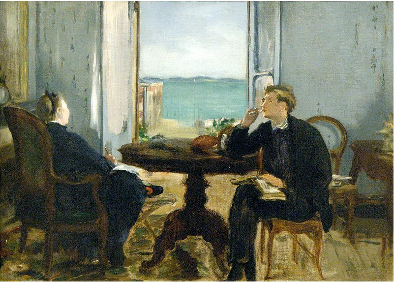 Edouard Manet: Ritratto di suo figlio, 1875, Museo d'Orsay, Parigi