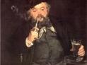 Edouard Manet: Un buon boccale di birra, 1873, Museo d'Arte di Filadelfia, USA