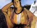 Edouard Manet: Donna Indiana che fuma, 1862,  Museo d'arte dell'Università di Princeton , USA