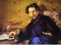 Edouard Manet : Ritratto di Stephane Mallarmé , 1876, Museo d'Orsay, Parigi