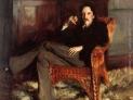 John Sargent Singer: Ritratto di Robert Louis Stevenson, 1885, collezione privata