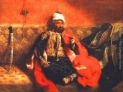 Eugene Delacroix: Turco che fuma, 1825, Museo del Louvre, parigi, Francia