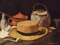 van Gogh: -Natura morta con cappello di paglia e pipa, 1881-1885, Museo Kröller-Müller, Otterlo, Paesi Bassi