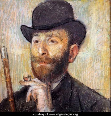 Edgar Degas: Zachary Zakarian, 1885, collezione privata