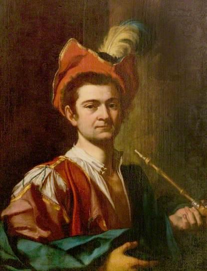 Giuseppe Bonito: Man smoking a pipe, 1730, Compton Verney, Warwickshire, Gran Bretagna