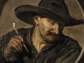 Frans Hals (school): Uomo con la pipa 1750 c.a.