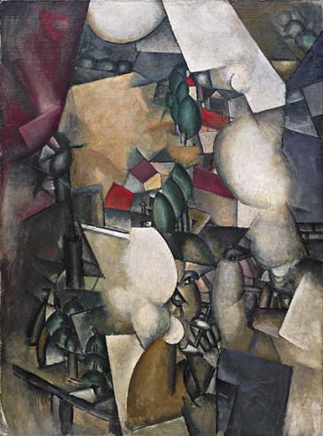 """Fernard Léger """"Les fumeurs"""" - 1912 (Guggenheim Museum, New York)"""