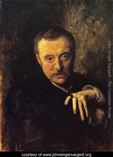 John Sargent Singer: Antonio Mancini, 1902, Galleria Nazionale d'Arte Moderna, Roma