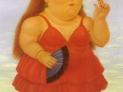 Fernando Botero: La spagnola, 1986