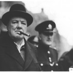 Churchill con il sigaro