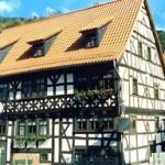 Edificio in legno che ospita il museo del tabacco